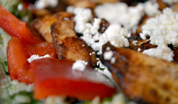 quinoa met pittige kip