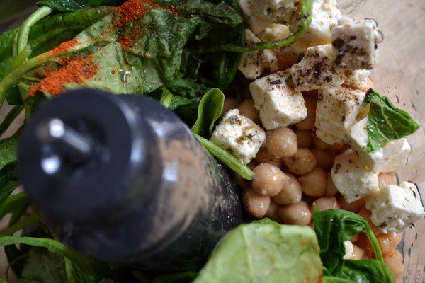 griekse salade blender