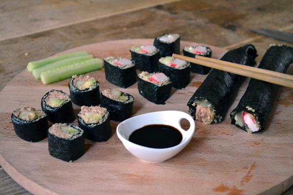 superfood sushi met quinoa