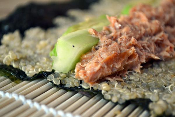 tonijn komkommer sushi