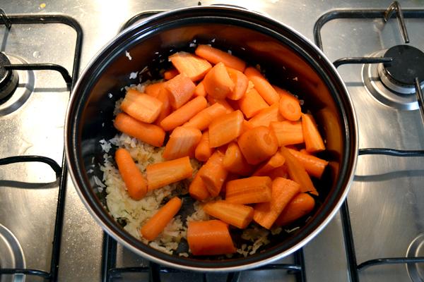 wortelsoep maken