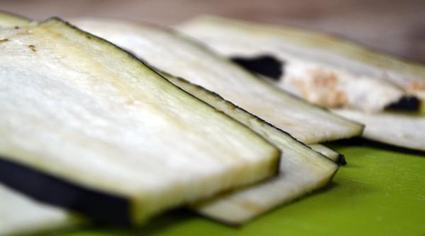 lasagne zonder pasta met aubergine