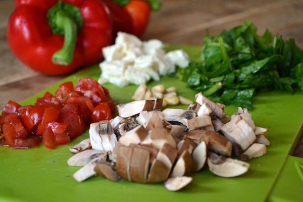 gevulde paprika met quinoa