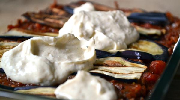 lasagne gehakt aubergine