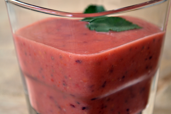 superfood smoothie goji bessen