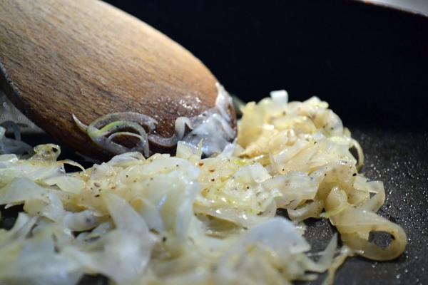 uien carameliseren