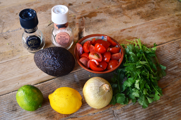 ceviche ingredienten
