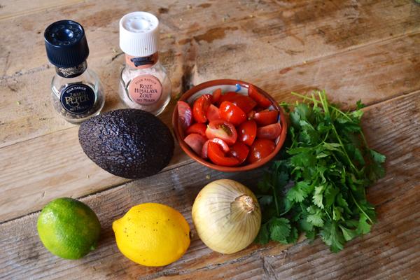 ceviche ingredienten