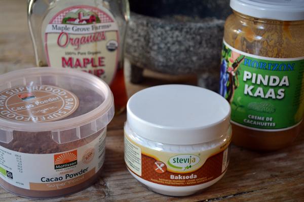 Beestachtige brownies ingredienten