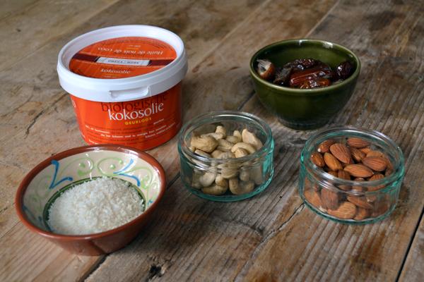 kokos ontbijtrepen ingredienten