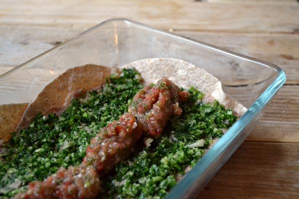 Laag 3: salsa