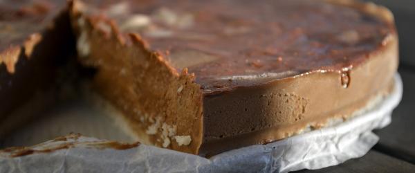 gezonde chocolade taart