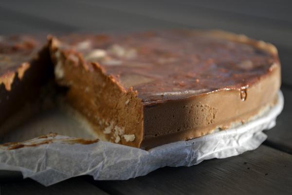 gezonde chocolade kokostaart recept