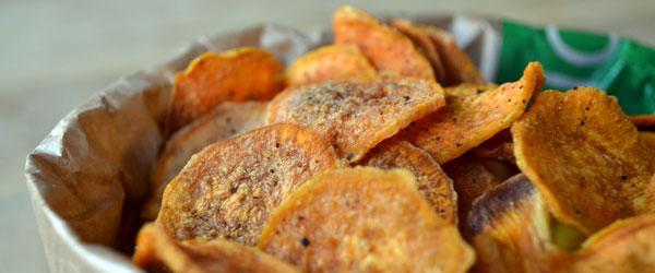 gezonde chips maken