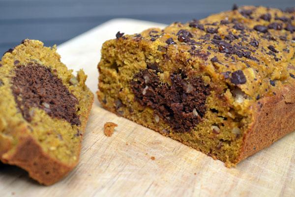 chocolade pompoencake recept