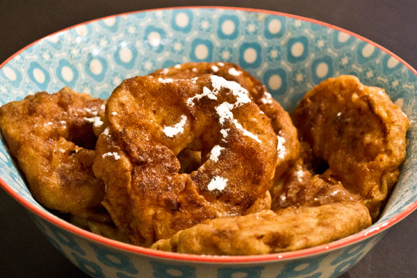glutenvrije appelbeignets recept
