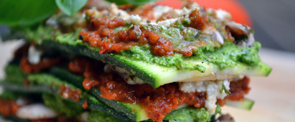 raw lasagne recept