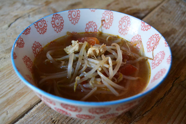 thaise kippensoep