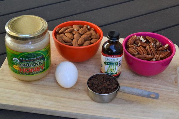gezonde chocoladekoekjes ingredienten