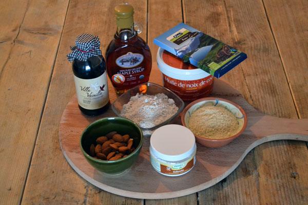 glutenvrije biscottis ingredienten