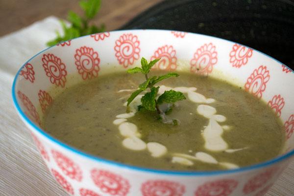 recept voor courgettesoep
