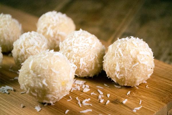 citroentruffels kokos recept