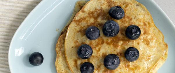 banana pancakes recept
