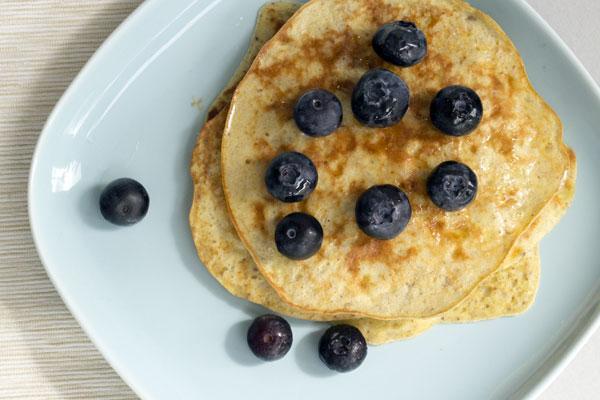 recept banana pancakes
