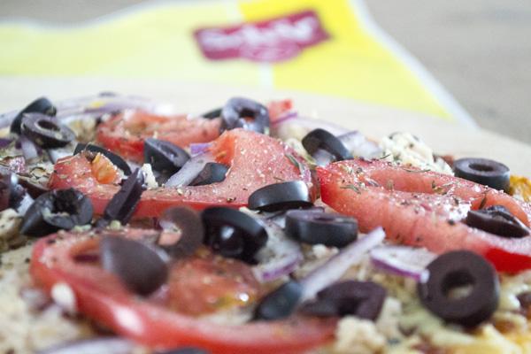 pizza glutenvrij recept tonijn wrap schar