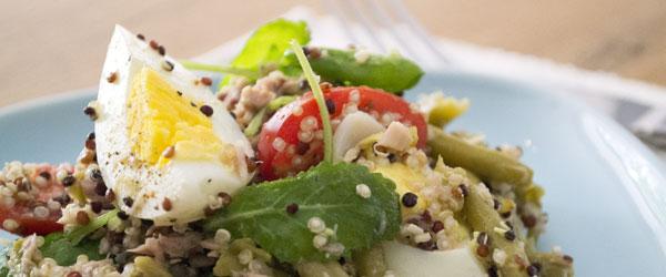 quinoa salade recept nicoise