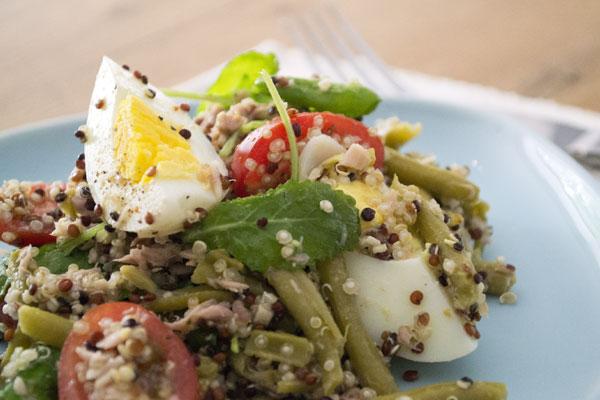 recept salade nicoise quinoa