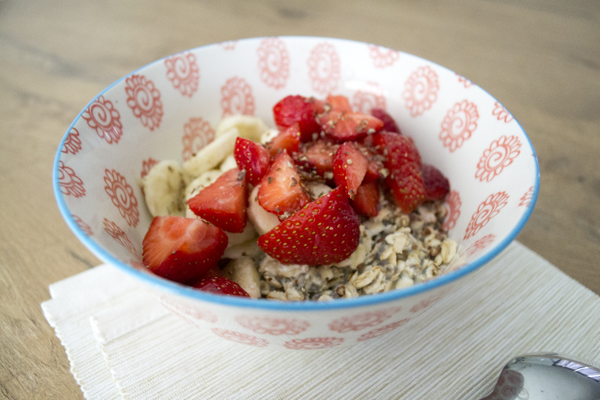 ontbijt recept havermout chia