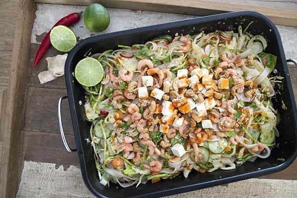 recept thaise salade tofu