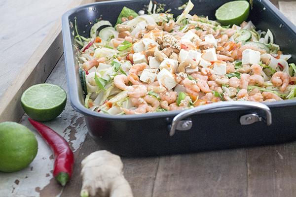 thaise salade tofu recept