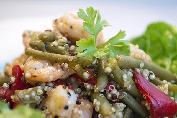 quinoa recept gambas