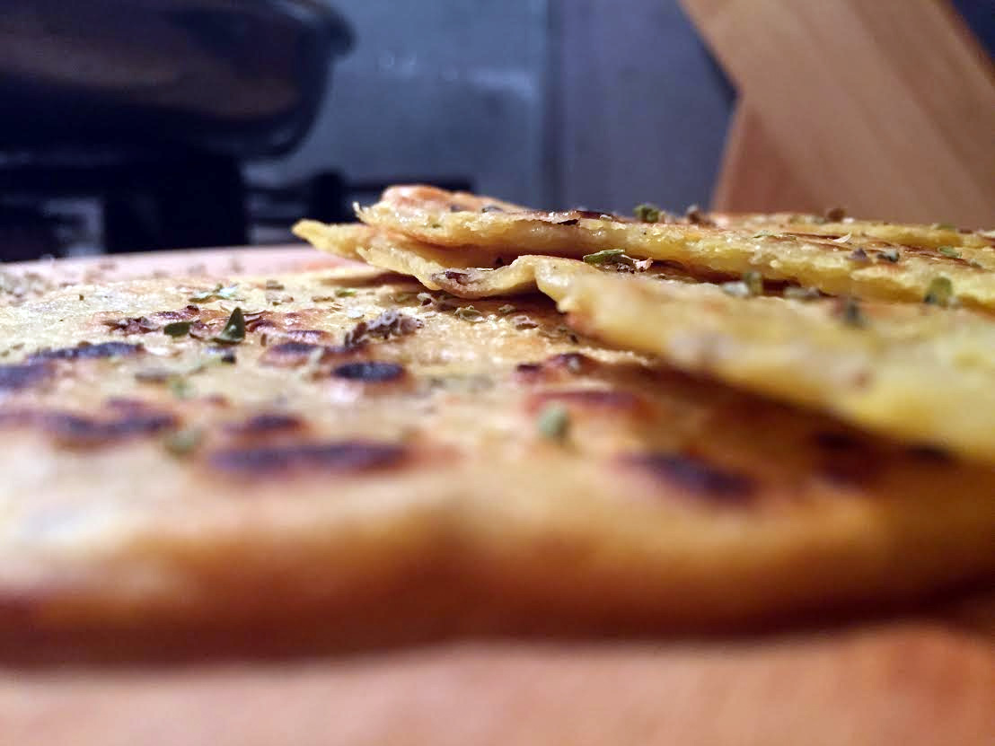 naanbrood glutenvrij recept