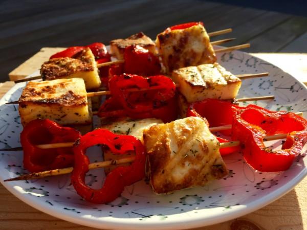 halumni barbecue recept