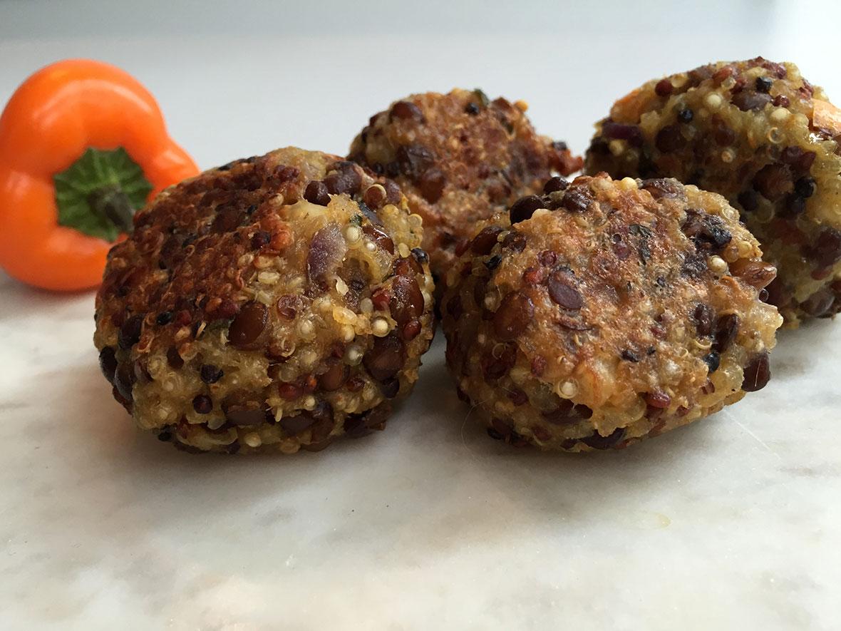 quinoa gehaktballen