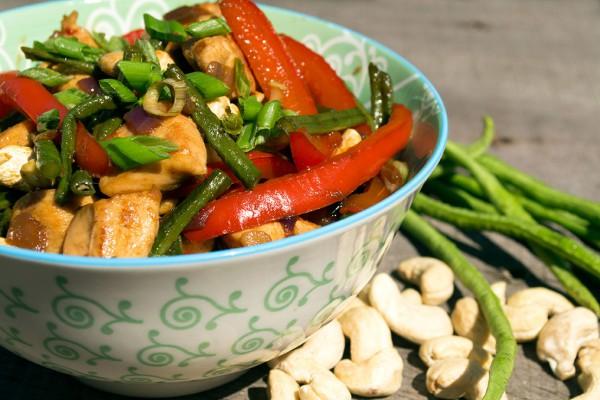 thais kip cashew recept
