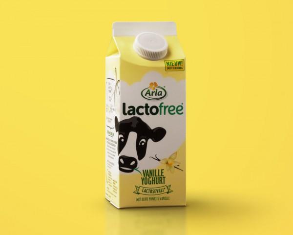 arla vanilleyoghurt lactofree
