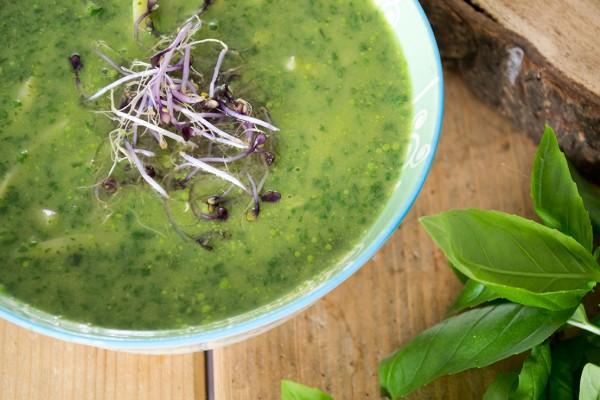 avocado spinazie soep