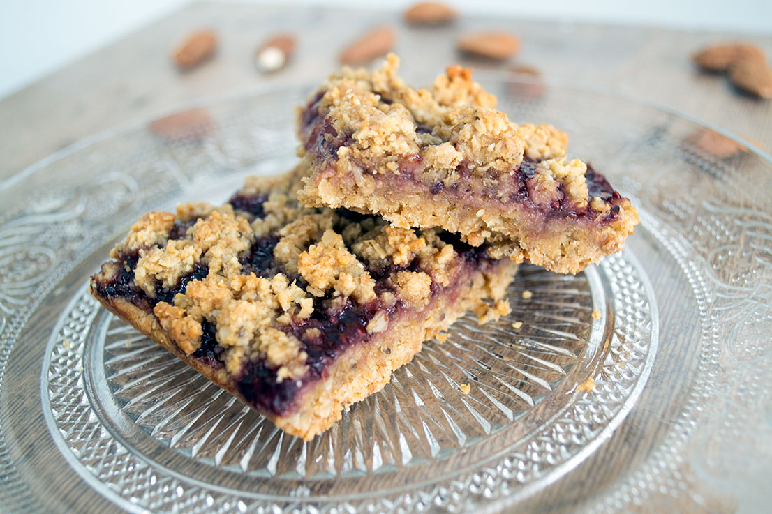 havermout frambozen crumble repen