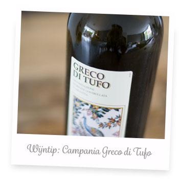 Wijntip: Campania Greco di Tufo