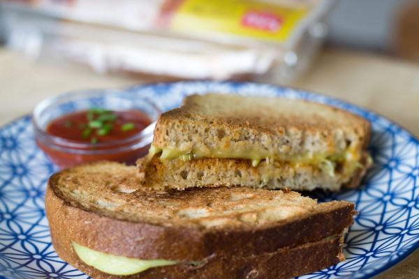 tosti vegan recept